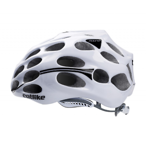 Catlike Mixino Road Bike Ventilated Cycling Helmet Gloss White Size Small