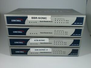 Lot-of-4-Sonicwall-SSL-VPN-200-NA-APL15-03F-Switch-Only-1-Power-Supply