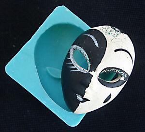 Silicone mould venetian mask sugarcraft cake decorating fondant fimo