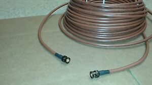 Belden 1694A HD-SDI RG-6 Digital Video Cable 4.5 GHZ BNC Male to BNC Male 75 ft.