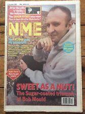 NME 17/10/92 Bob Mould/Sugar cover, Happy Mondays, Th' Faith Healers, Factory