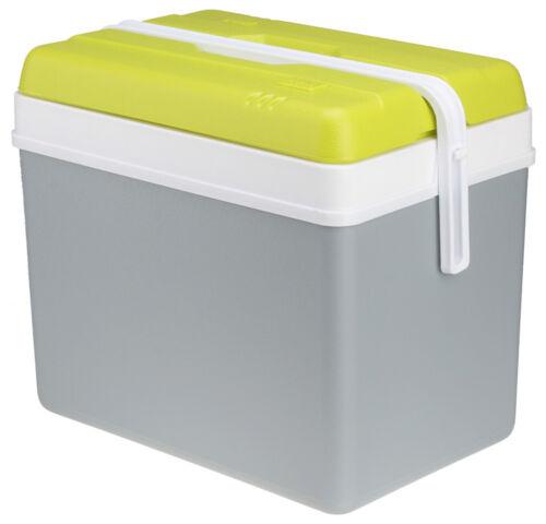 Hieleras promotion 35l EDA refrigeración contenedores también de camping para 1,5 l botellas gris