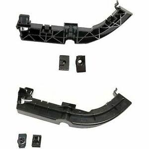 New Set of 2 Bumper Face Bar Brackets Front Driver /& Passenger Side LH RH Pair