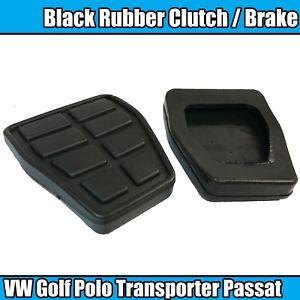 2x VW T4 TRANSPORTER 1990-2003 CAMPER VAN BRAKE CLUTCH PEDAL PADS RUBBERS
