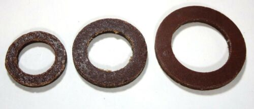 """3//4/"""" x 1//8/"""" LEATHER Water Meter Gaskets for 5//8/"""" x 3//4/"""" or 3//4/"""" meter Pkg//100"""