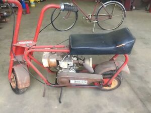Vintage Bonanza Atlas Hodaka Mini Bike 3000 1969 Garage Kept