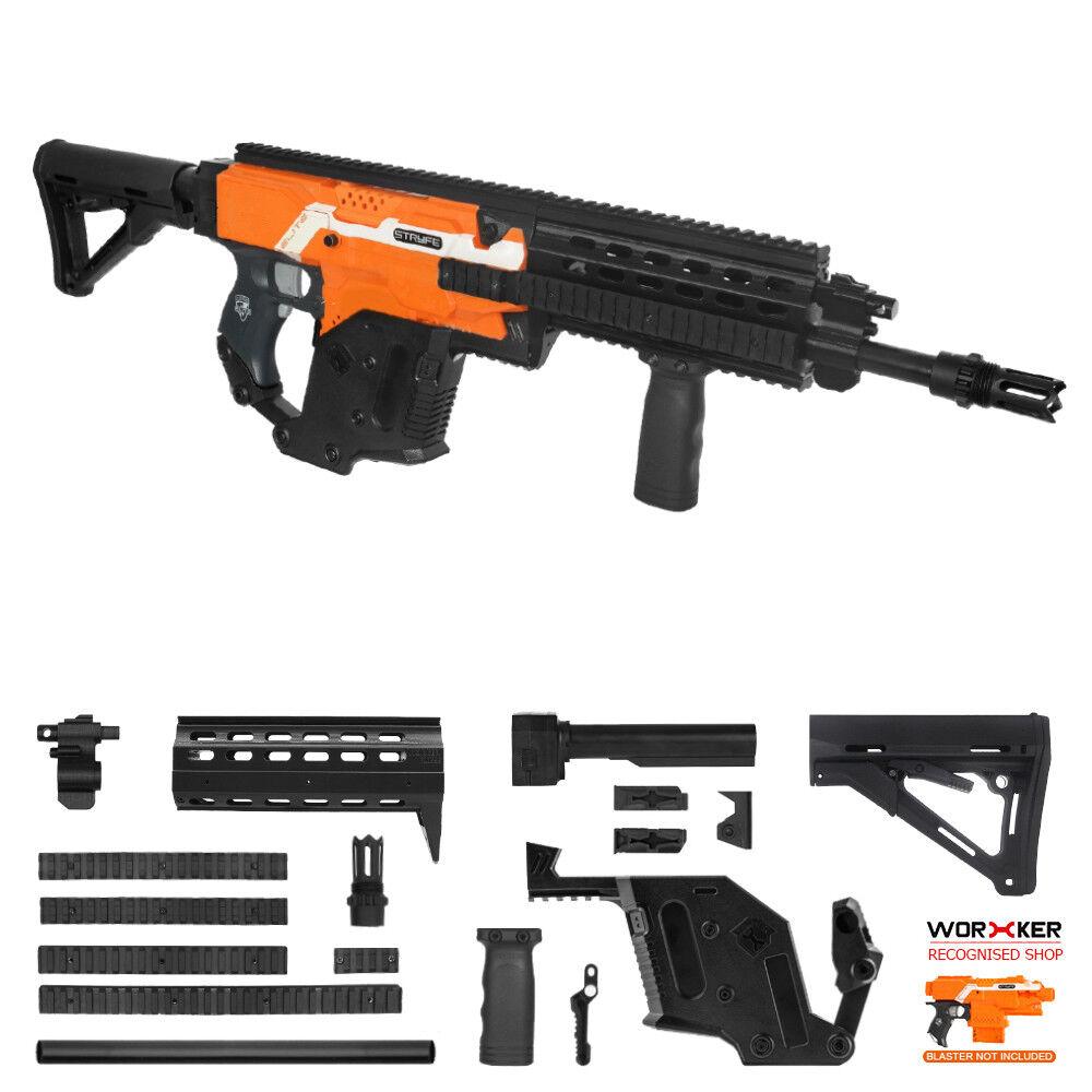 Trabajador Mod F10555 HK G56 Combo de impresión 3D Kit de imitación para Stryfe modificado de juguete