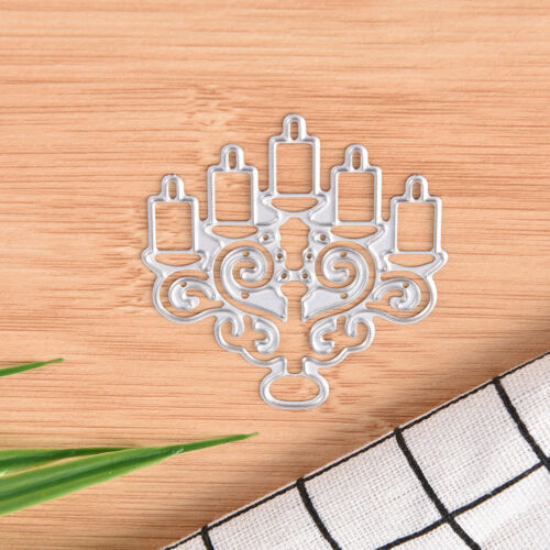 Candle Metal Cutting Dies Stencil Scrapbook Album Paper Card Embossing Craft  R