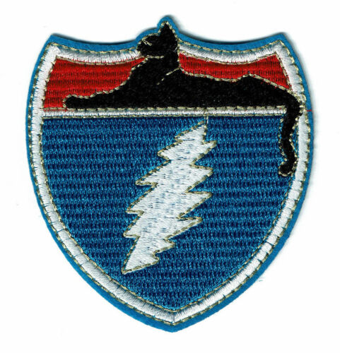 Cats on Tour patch embroidered patches Grateful dead JGB cat under the stars out