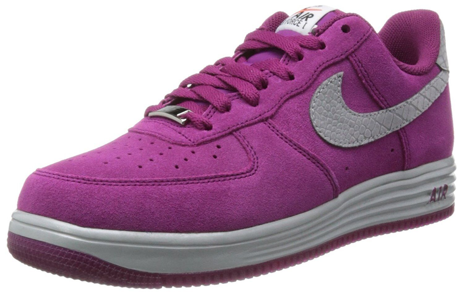 Nike Lunar Force 1 Air Force Men's Size 8.5 8.5 8.5 (616774-600) Raspberry Red/Silver 354826