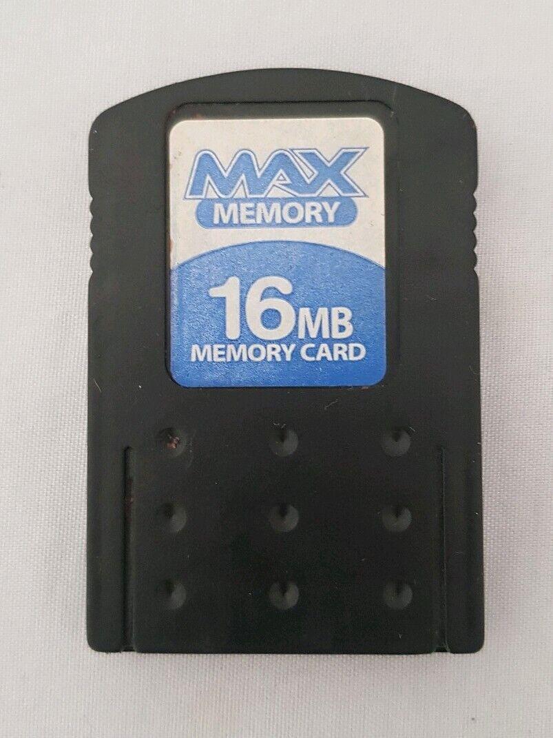 Max Memory - PlayStation 2 - Memory Card 16MB (Vintage)