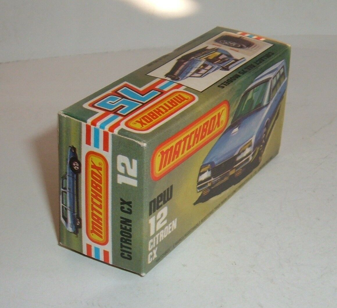 Matchbox Superfast Superfast Superfast No 12, Citroen CX, - Excelente Como Nuevo. e56147