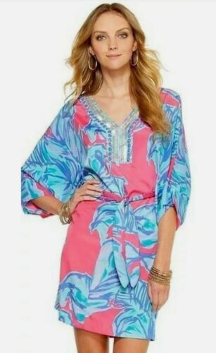 $238 Lilly Pulitzer Wilda Chic Pink Sway Floral Be