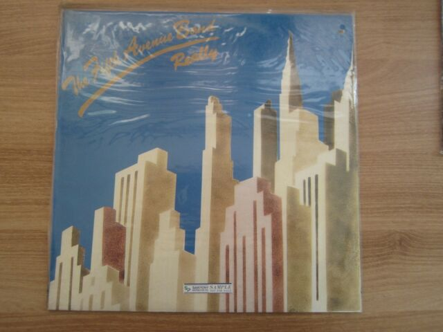 The Fifth Avenue Band – Really 1991 Korea LP Factory SEALED NEW