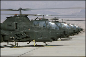 US-Army-AH-1S-Cobra-Helicopters-Bright-Star-1985-8x12-Photos