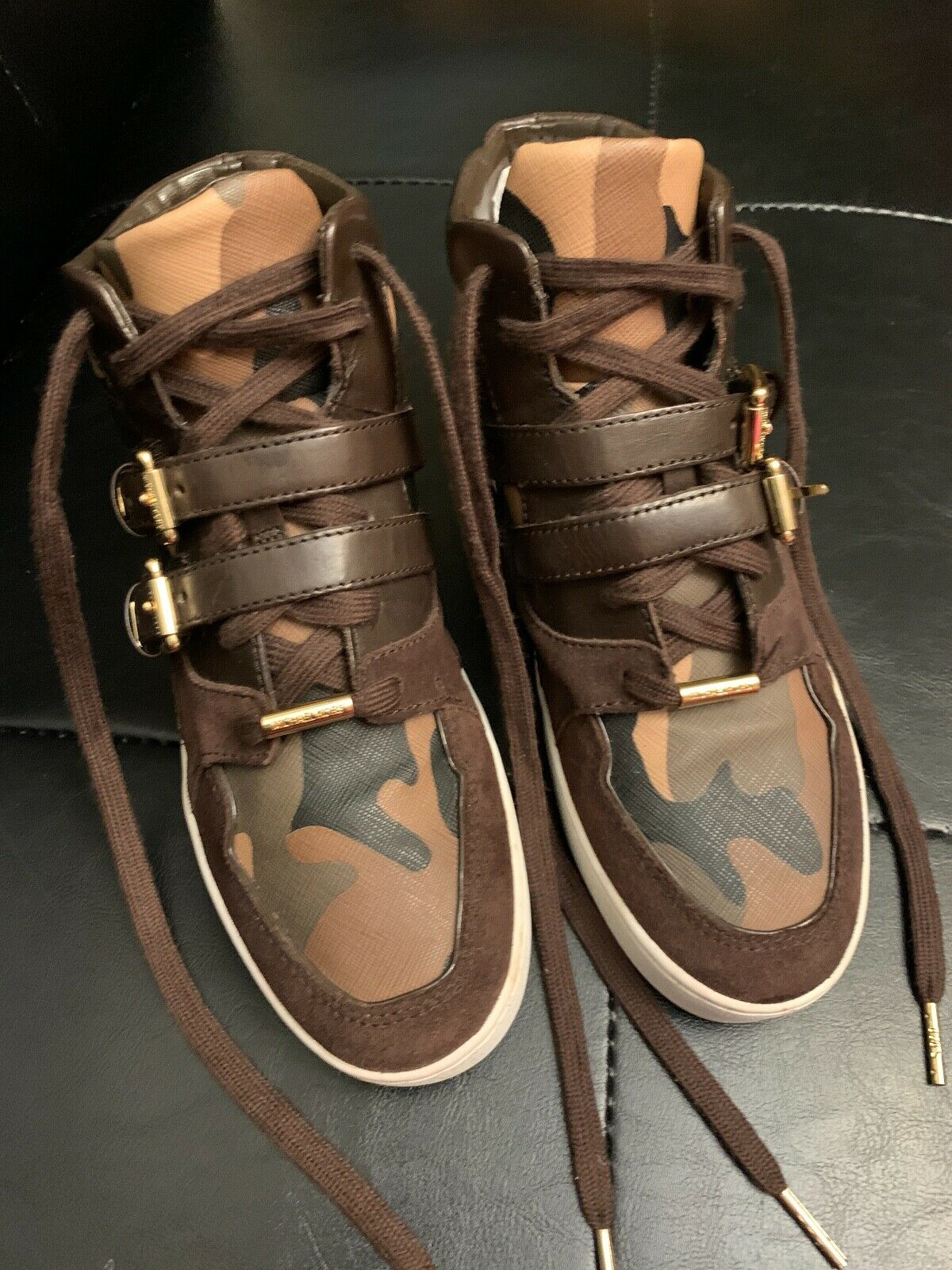 michael kors olive green sneakers