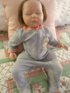 Reborn Baby Doll Sleeping Soft 20 Lifelike With 10 Pieces Of Clothing Ebay