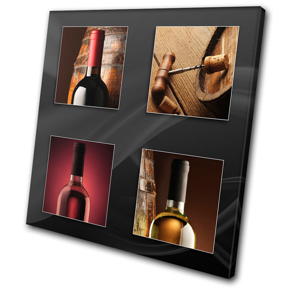 Food Kitchen Wine Bottles Bottles Bottles SINGLE TELA parete arte foto stampa 2b6ce0