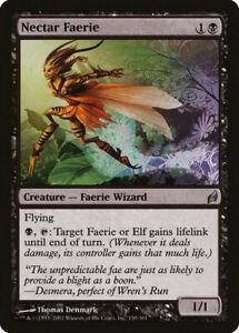 MTG-NM-Nectar-Faerie-LRW-Lorwyn