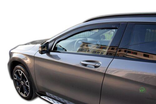 Mercedes GLA X156 5 puerta 2014-UP conjunto de frente viento desviadores 2pc Heko Teñido