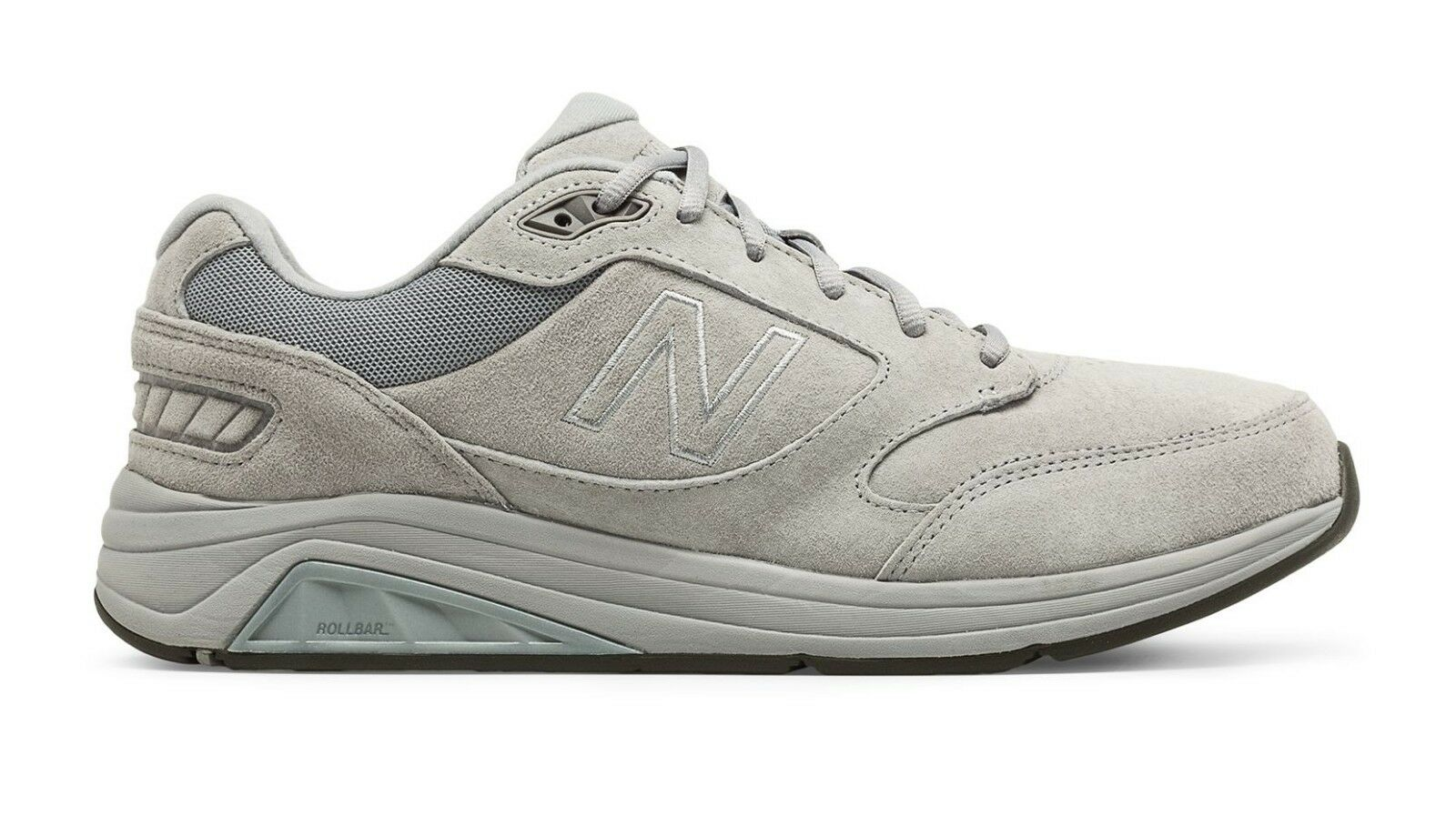 New Balance MW928GY3 Men's 928v3 Gray Suede Control Health Walking Shoes New