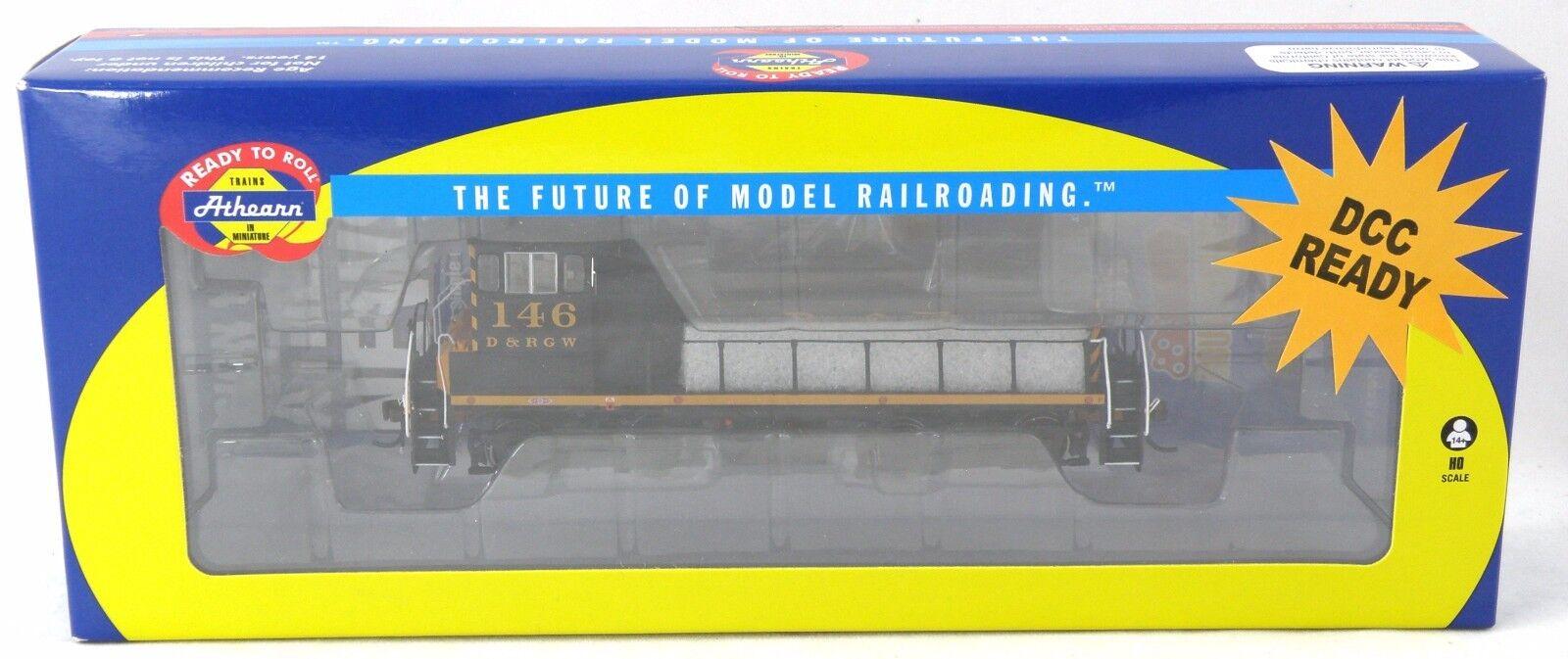 Escala Ho Locomotora conmutador SW1000-D&RGW  146 - Athearn  98125