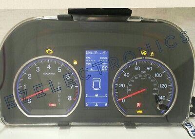 2010 11 Honda CRV CR-V INSTRUMENT CLUSTER  REPAIR SERVICE 78100-SWB-A512-M1