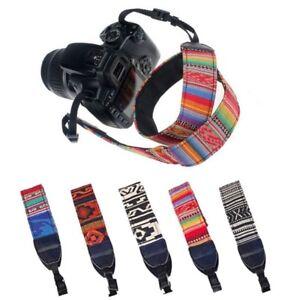 Camera Shoulder Neck Vintage Strap Belt for Sony Nikon Canon DSLR Pentax