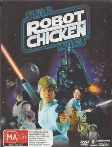 D.V.D MOVIE  DB253    ROBOT CHICKEN  /STAR WARS    DVD