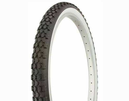 1 TIRE- 24X2.125 White Wall DURO BEACH CRUISER BIKE TIRE LOWRIDER CHOPPER