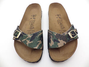 check out 45a63 0471f Details about Birkenstock Birki's MENORCA Camoflauge EURO 36 L 5 - 5.5  230mm Narrow birkoflor