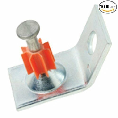 100 ITW Ramset SDC125 Ladd 1-1/4 Pin Angle Clip Tie Wire Ceiling ...