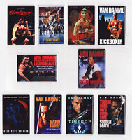 Van Damme Movie Poster Magnets W/ Kickboxer Bloodsport Timecop Cyborg & More