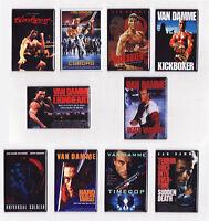Van Damme Movie Poster Magnets W/ Kickboxer Bloodsport Timecop Cyborg & More