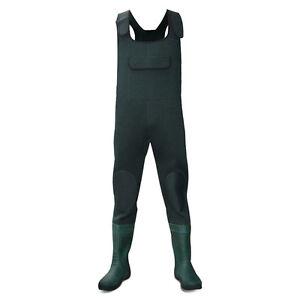 Dirt-Boot-Green-Neoprene-Chest-Waders-100-Waterproof-Coarse-Fishing-Muck-Wader