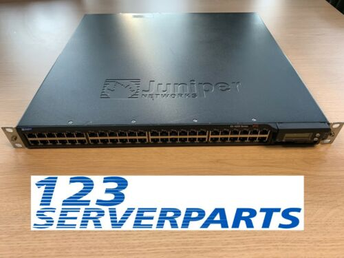 EX4200-48T JUNIPER 48 PORT 8 PoE GIGABIT SWITCH 2x 320W PSU EX-PWR-320-AC