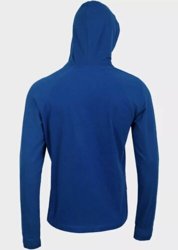 MENS angry birds hoodie hooded jumper t shirt blue size S M L XL NEW dads xmas