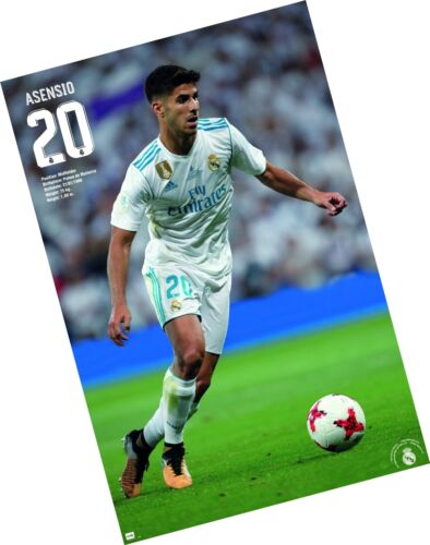 "Trends International Wall Poster Marco Asensio Real Madrid 22.375/"" x 34/"""