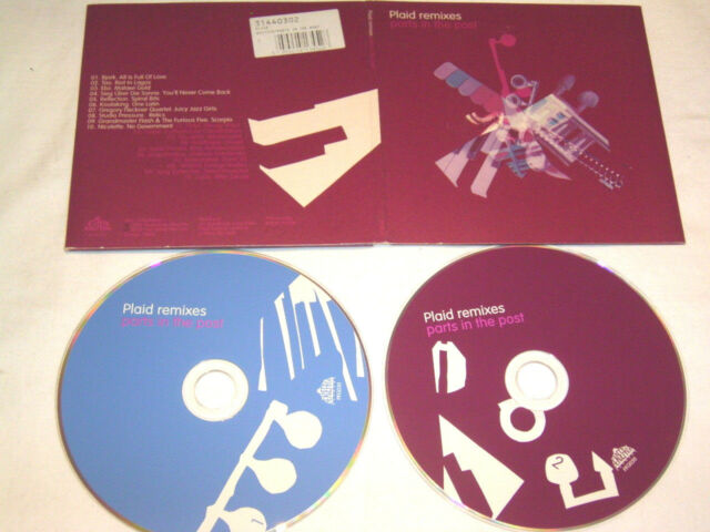 2 CD - Plaid Remixes Parts in the Post (2003) - 7