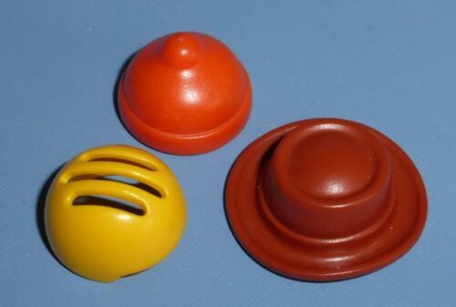 Dolls House // Park extras 3 Playmobil  Caps // Hats for Children Figures B