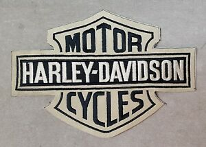 Vintage-Harley-Davidson-Motorcycles-Cloth-Embroidered-Sew-On-Patch