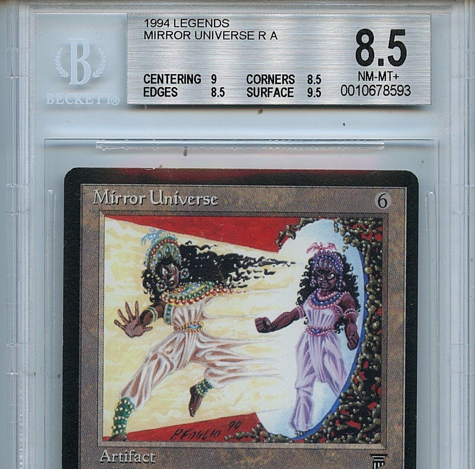 MTG Legends Legends Legends Mirror Universe BGS 8.5 NM-MT+ card Magic the Gathering WOTC 7559 491c78