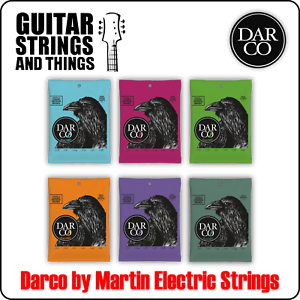 Darco by Martin Nickel Wound Electric Guitar Strings