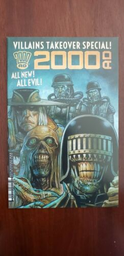2000 AD VILLIANS TAKEOVER SPECIAL #1 1st PRINT REBELLION//2000ad NEW UNREAD