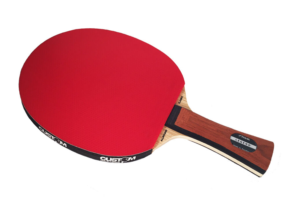Stiga Allround Classic Legend Table Tennis Bat + Case + Predectors