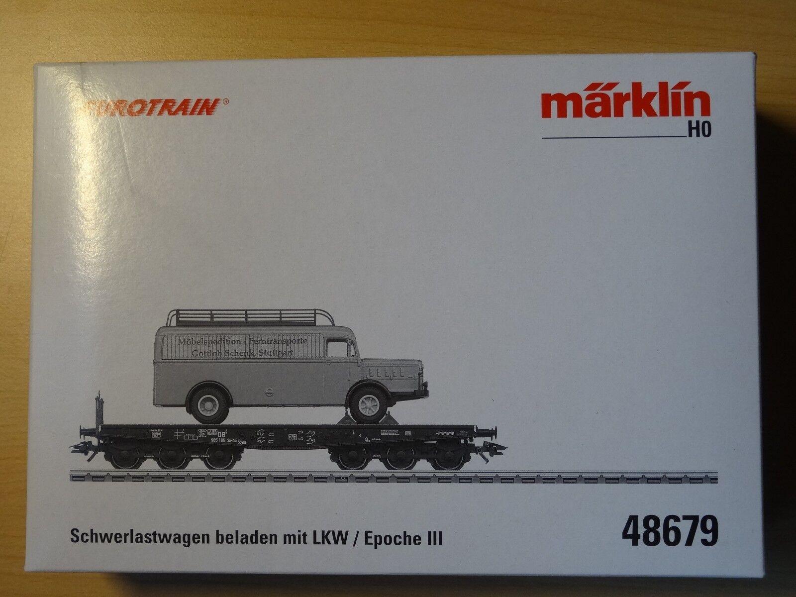 marklin HO ART 48679 pesanti con camion NeuwOrgKT