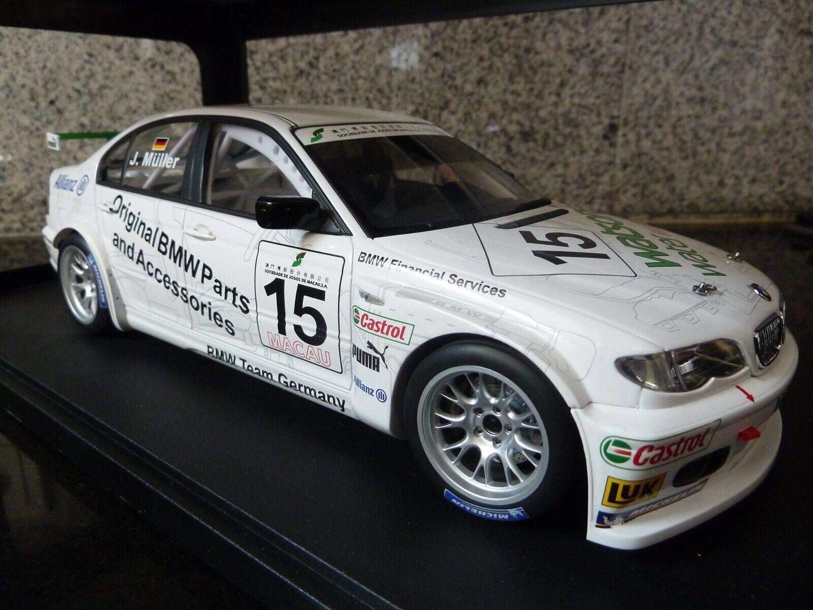 1 18 AutoArt, BMW 320i, Muller, Macau Guia 2004 Winner