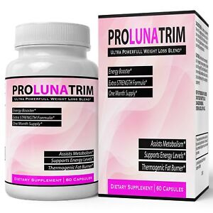 Details About Pro Luna Trim Weightloss Supplement Extreme Slim Tablets Thermogenic Lean F