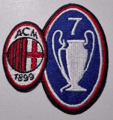 #a# 10 Patch Milan Settima Coppa Campioni Toppa Champion League Patch Tecniche Moderne