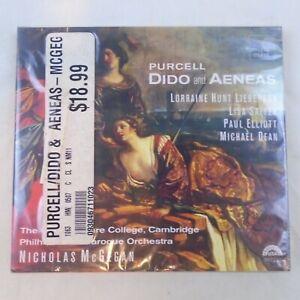 Purcell: Dido and Aeneas CD Oct-1994, Harmonia Mundi DISRIBUTOR NEW FREE SHIP TZ